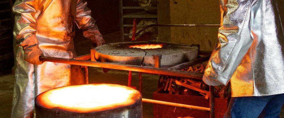 The Bronze Casting Process
